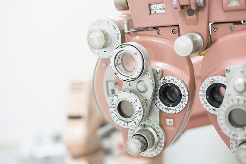 ce picături picură la verificarea vederii