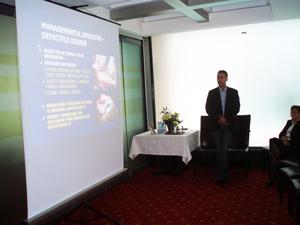 Dr Vlad Predescu la Simpozionul Regina Maria Bacau