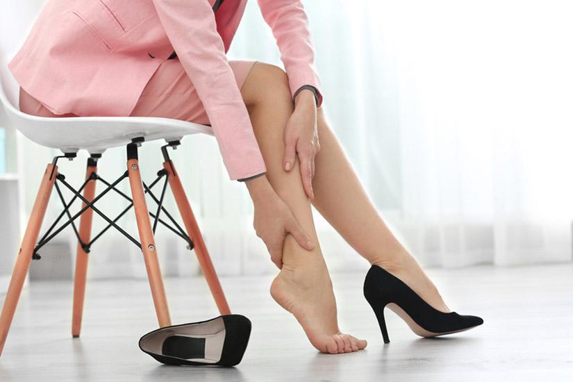 rls și picioare arzătoare