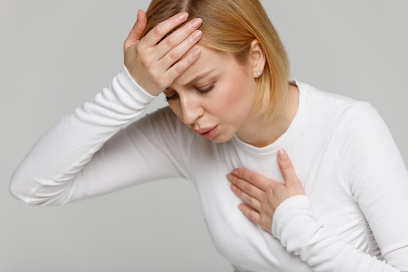 pierdere în greutate simptome de respirație rău